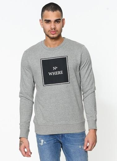 Baskılı Sweatshirt-Jack & Jones